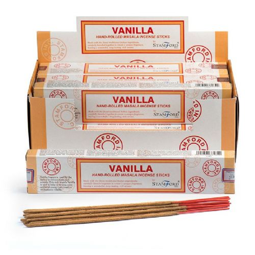 12 Vanilla Stamford Masala Incense Sticks
